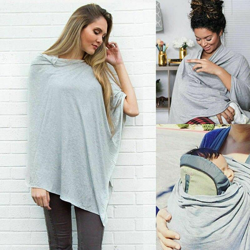 Bebê mãe amamentação enfermagem poncho cobrir úbere cobre blusa xale enfermagem capas