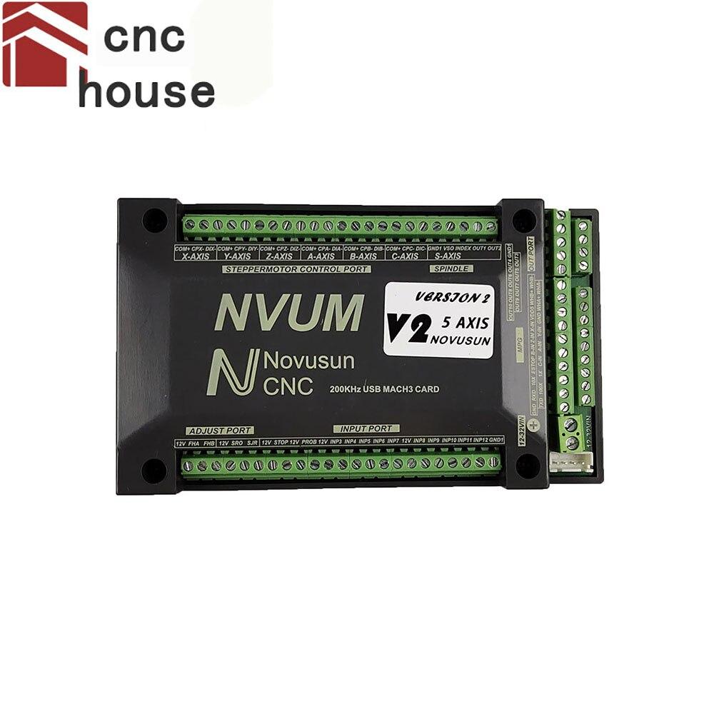 بطاقة القطع ، 4 محاور Mach3 USB NVUM ، 300 كيلو هرتز ، جهاز التوجيه CNC ، 3 ، 4 ، 5 ، 6 محاور ، لوحة التحكم في الحركة لحفر diy