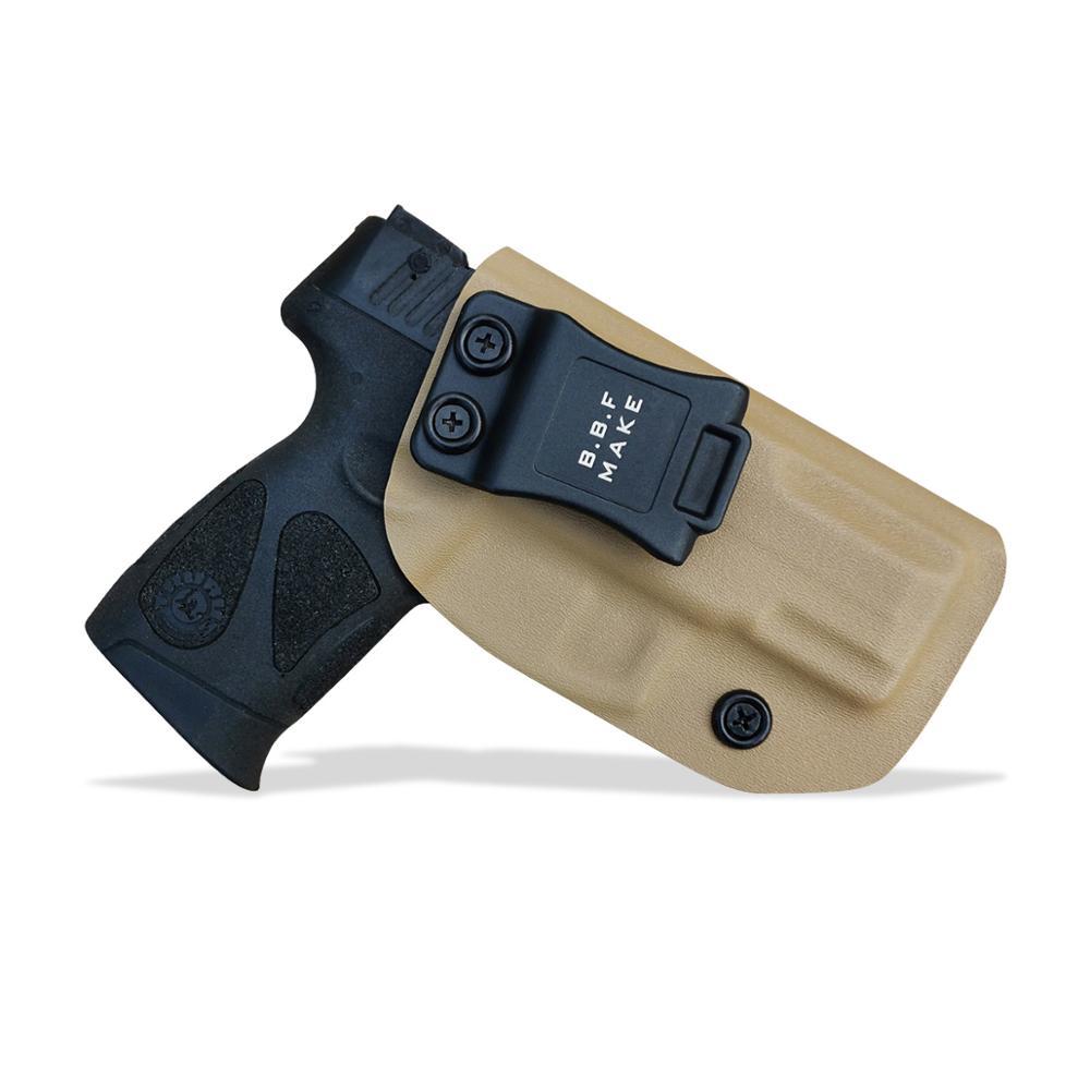IWB Kydex pistol toc personalizat: Taurus G2C 9mm și Millennium - Vânătoare - Fotografie 2