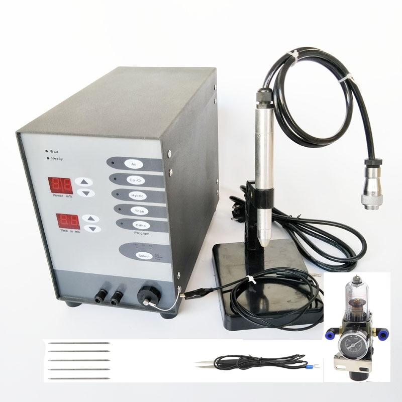 Máquina de soldadura de punto de joyería, herramienta de joyería artesanal s, soldador dental automático de pulso numérico de arco de argón, soldador dental de titanio dorado