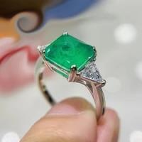 soild 18k gold big topaz rings for women wedding engagement bridal jewelry elegant ring fashion accessories gold jewelry 18k