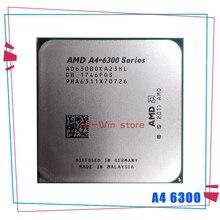 Amd A4 Series A4 6300 A4 6300K A4 6300B 3.7 Ghz Dual Core Cpu Processor AD6300OKA23HL/AD630BOKA23HL Socket FM2 CPU's    -