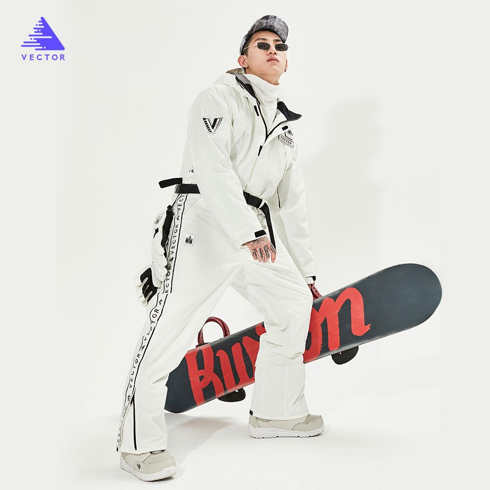 Extra Thick Men Women Ski Pants Straight Full Overalls Winter Warm Windproof Waterproof Outdoor Sports Snowboard Snowmobile