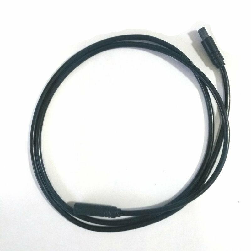 Cable de extensión del cable del Sensor de velocidad de la bicicleta de ciclismo para el Motor de la unidad media tongshang Tsdz2 110cm Accesorios para montar al aire libre
