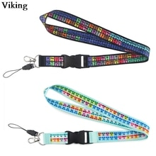 Blinghero bande dessinée accrocher corde Cool lanière pour téléphone clés sangle lanière avec porte-clés sifflet mode ID porte-Badge BH0453