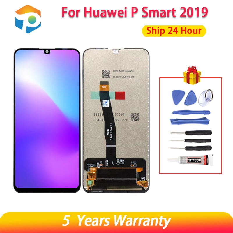 10 Touch AAA Quality LCD For Huawei P Smart 2019 LCD With Frame LCD Screen Display For P Smart 2019 LCD Screen POT-LX1 L21 LX3 недорого