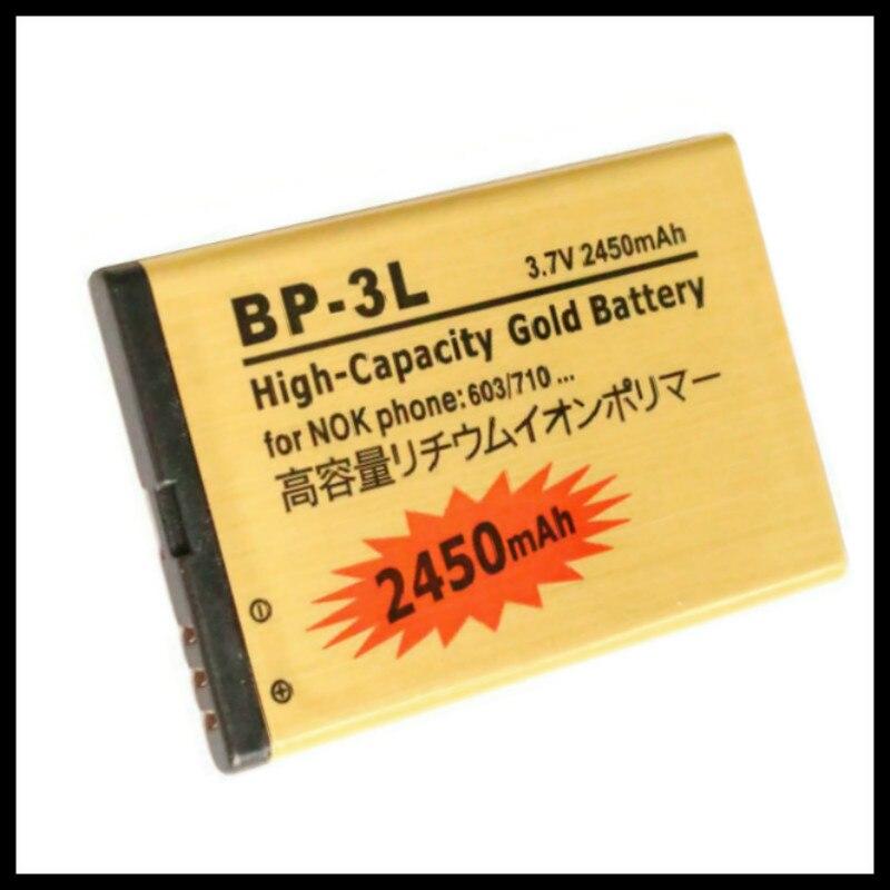 De alta capacidad BP-3L de oro de la batería para NOKIA Lumia...