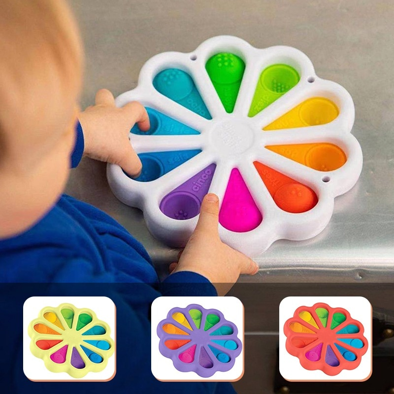 New Fidget Simple Dimple Toy Fat Brain Stress Toys Relief Hand Fidget Toys For Kids Adults Early Educational Autism Special Need enlarge