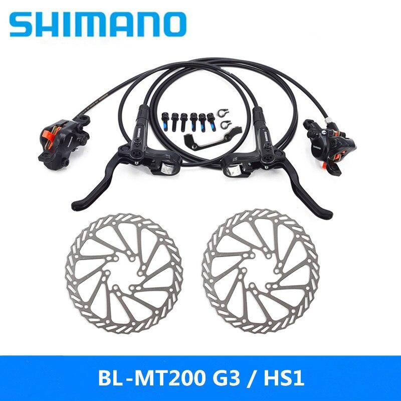SHIMAN0 BL-MT200 de freno de bicicleta mtb de freno de disco hidráulico para Freno de bicicleta de montaña de actualización M315 w / n G3 / HS1 del rotor