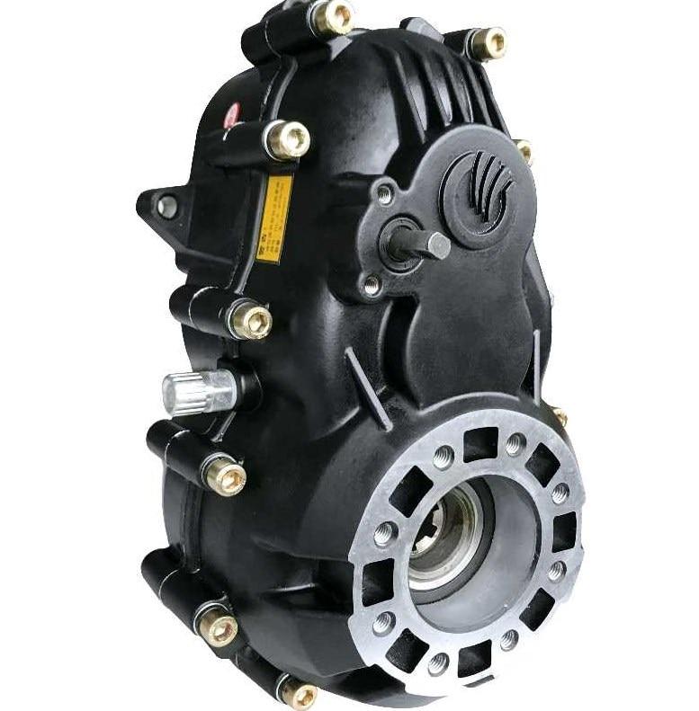 دراجة ثلاثية العجلات الكهربائية الملحقات عالية الطاقة التفاضلية سبليت والعتاد التحول المحرك التفاضلي صندوق مخفض سرعات التجمع