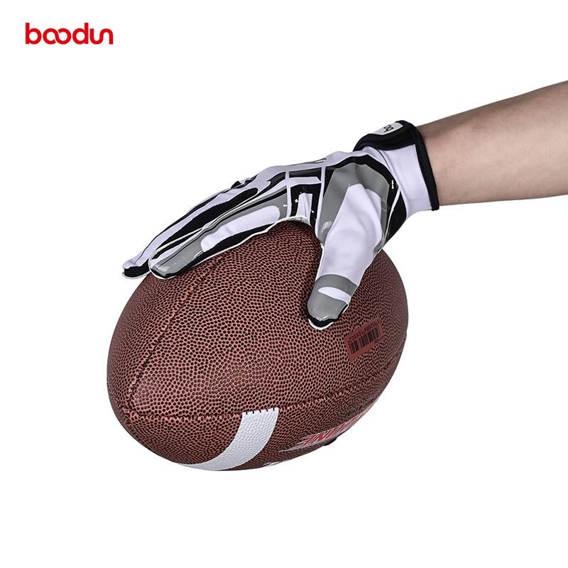 New Men Women Rugby Gloves Full Finger Breathable Anti-slip Silicone Baseball American Football Gloves Outdoor Hiking Gloves