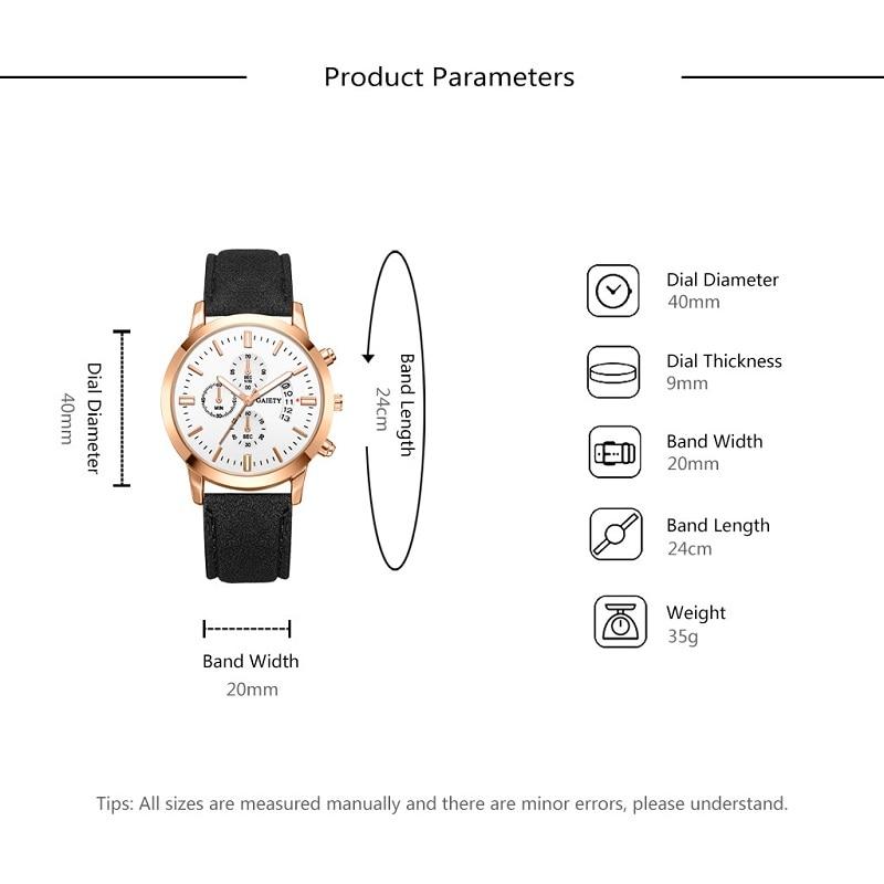 GAIETY Luxury Watch Men Multi-function Leather Calendar Business Quartz Wrist Watches Male Clock relogio masculino reloj hombre
