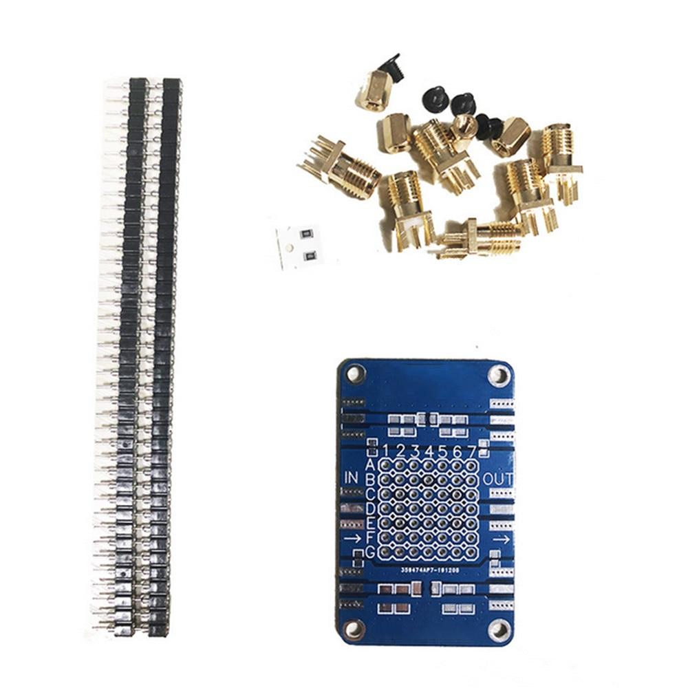 Professional Testboard Circuit Board for NanoVNA Testboard Vector Network Analyzer Kit Repair Parts
