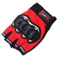 outdoor sport gloves for rider of dirtbike motocross atv motorcycle bicycle motorbike cycling fishing half finger summer gloves
