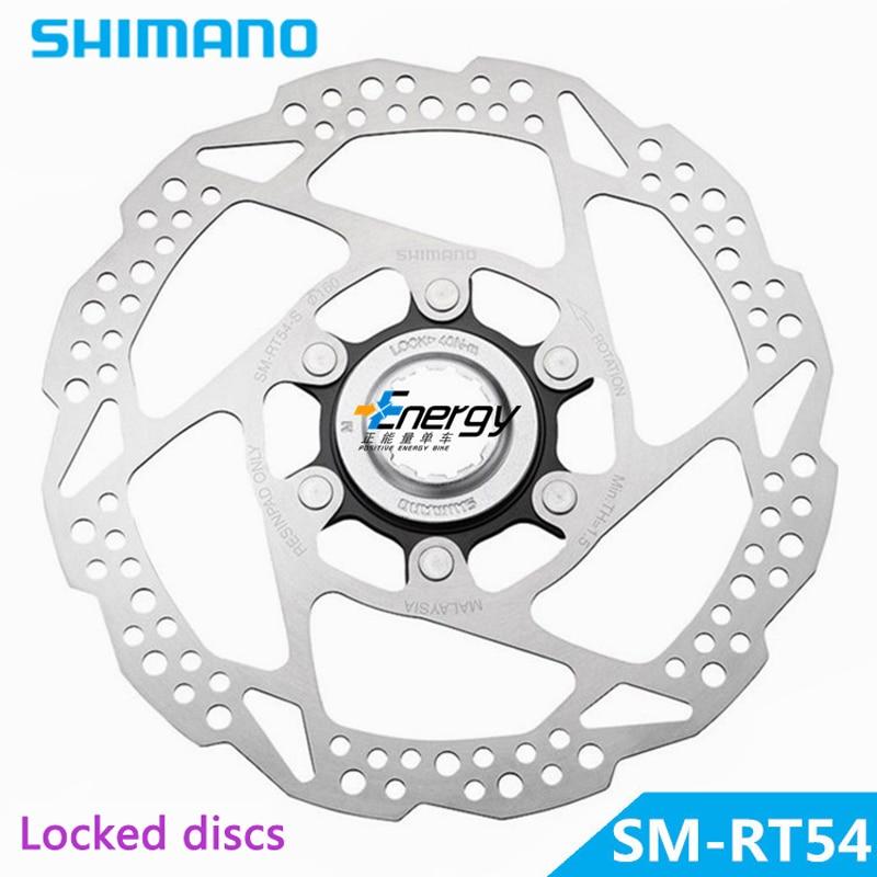 Shimano Deore SLX SM-RT54-S piezas de bicicleta de acero inoxidable bicicleta de ciclismo freno de disco de bicicleta Rotors Centerlock 160mm envío gratis
