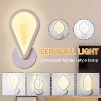 10W 220V appliques avec interrupteur chambre maison moderne salle de bain eclairage interieur appliques murales luminaire deco escaliers mur LED lumieres