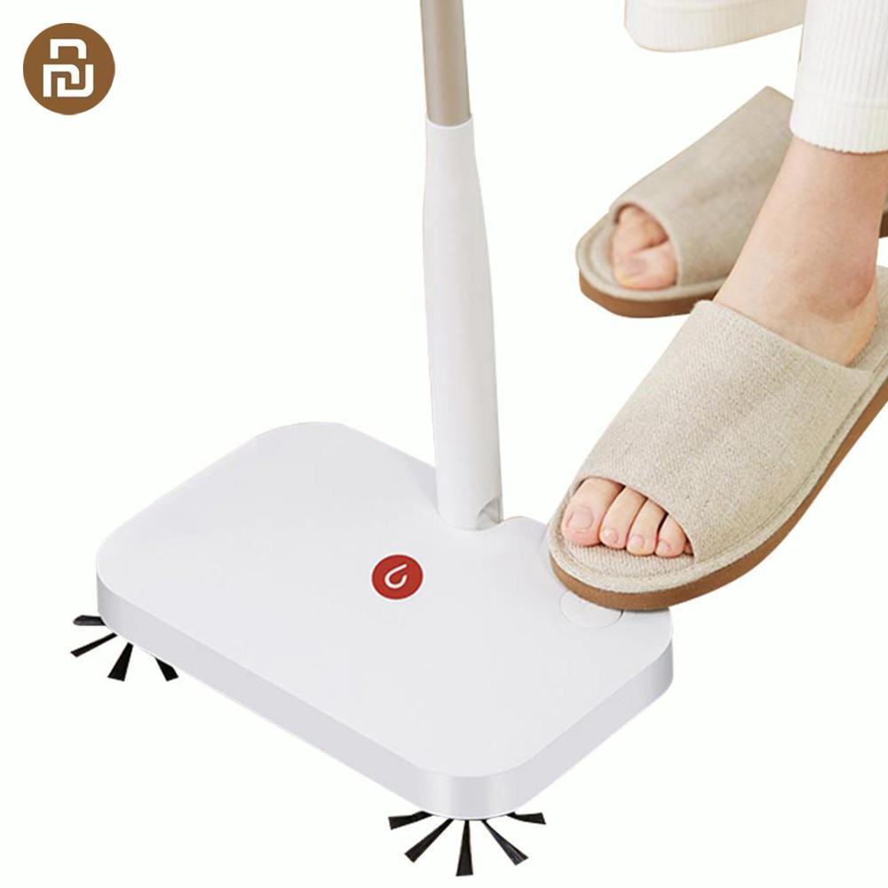Yijie беспроводной ручной подметально-уборочная машина для уборки пола с 30 шт. сменная Нетканая ткань