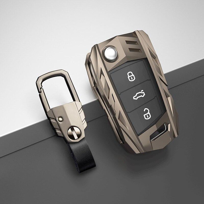 AliExpress - Car Key Case Cover For Volkswagen VW Golf 7 gti mk7 r Touran Skoda Octavia 3 Superb Karoq Kodiaq Seat Leon mk3 Ateca Accessories