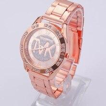 2021 New Watch Women Luxury Quartz Watch Ladies Watches Fashion Crystal Gold Stainless Steel Wristwa
