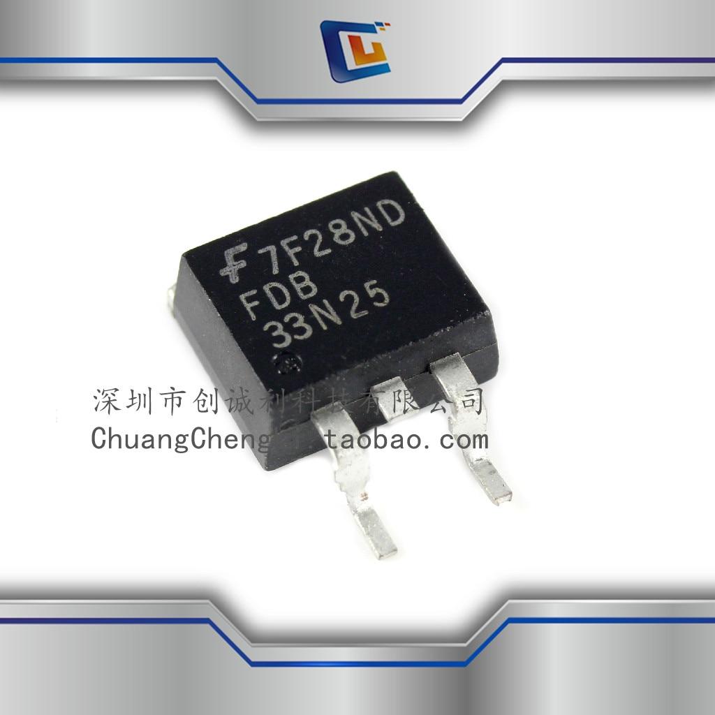 100% nuevo y original FDB33N25TM 250V NMOSFET