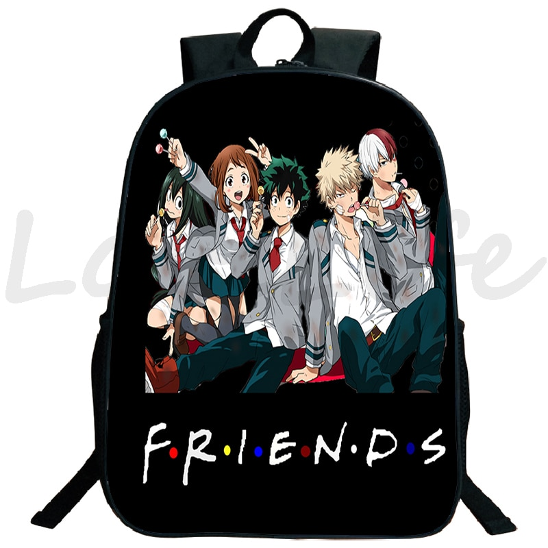 Boku No Hero Academia Backpack Travel bag Laptop Rucksack Boys Girls Book Bags Daily Mochila teens S