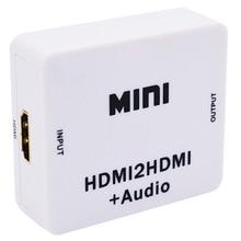 Nouveau séparateur dextracteur Hdmi 1080P Hdmi numérique vers analogique 3.5Mm sortie o Hdmi2Hdmi