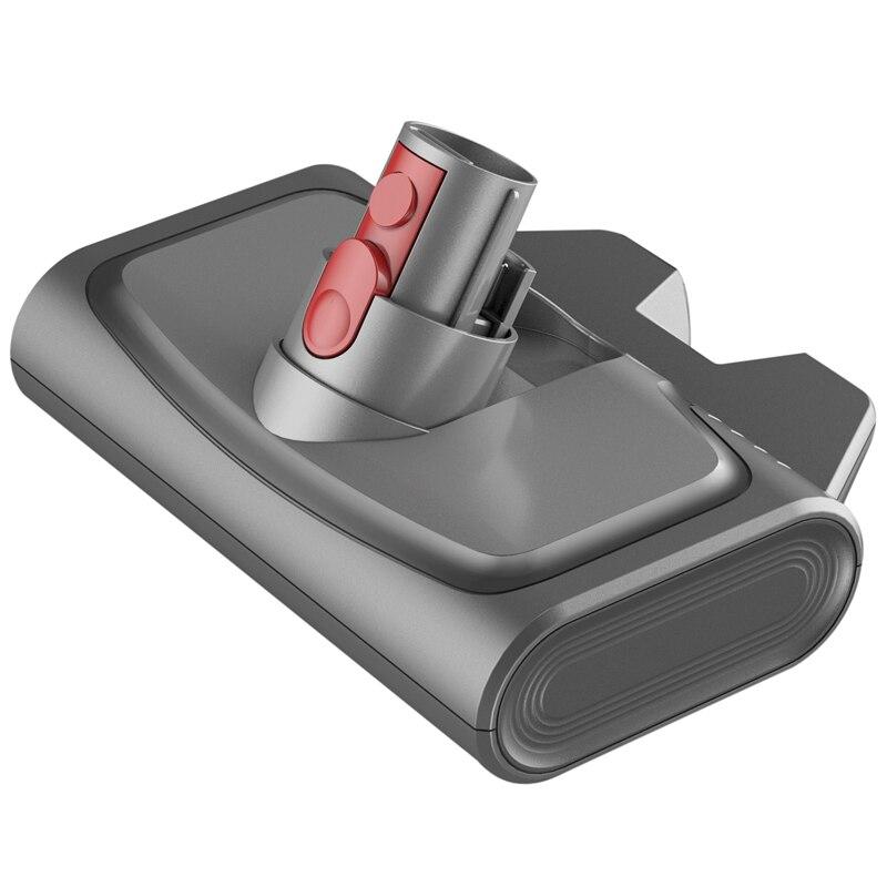 رأس فرشاة كهربائية لإزالة العث ، مع مصابيح UV ، للمكنسة الكهربائية Dyson V7 V8 V10 V11 ، الأجزاء القابلة للاستبدال