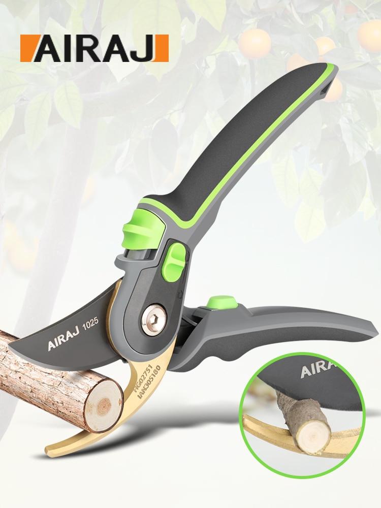 Sécateur de jardinage, qui peut couper des branches de 24 mm de diamètre, des arbres fruitiers, des fleurs