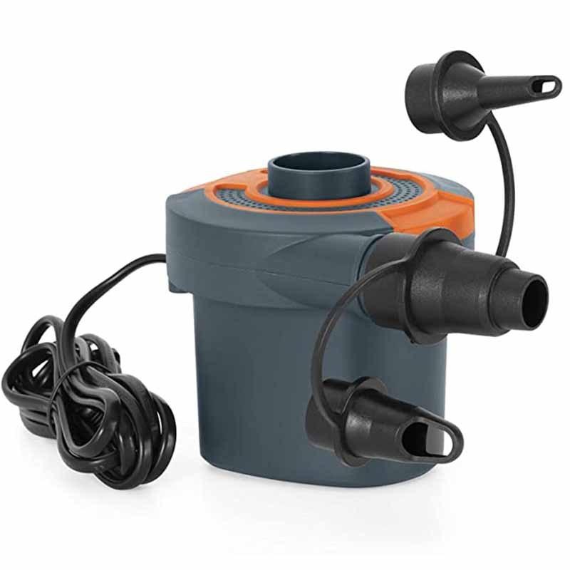 متعددة الوظائف نفخ مضخة كهربائية تستخدم لتضخيم وانكماش نفخ سرير حمام سباحة اللعب التخييم الحصير B1