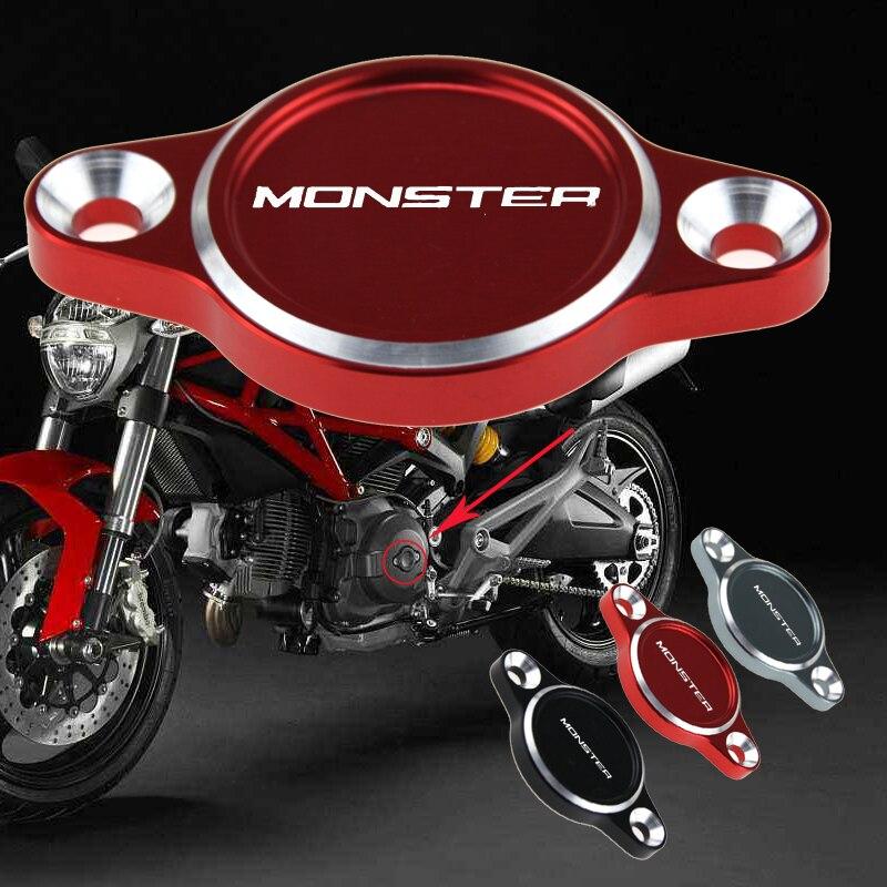 Alternador do motor capa para ducati monster 659 696 796 821 1100 s/evo 1200/s diavel 1000ds acessórios da motocicleta
