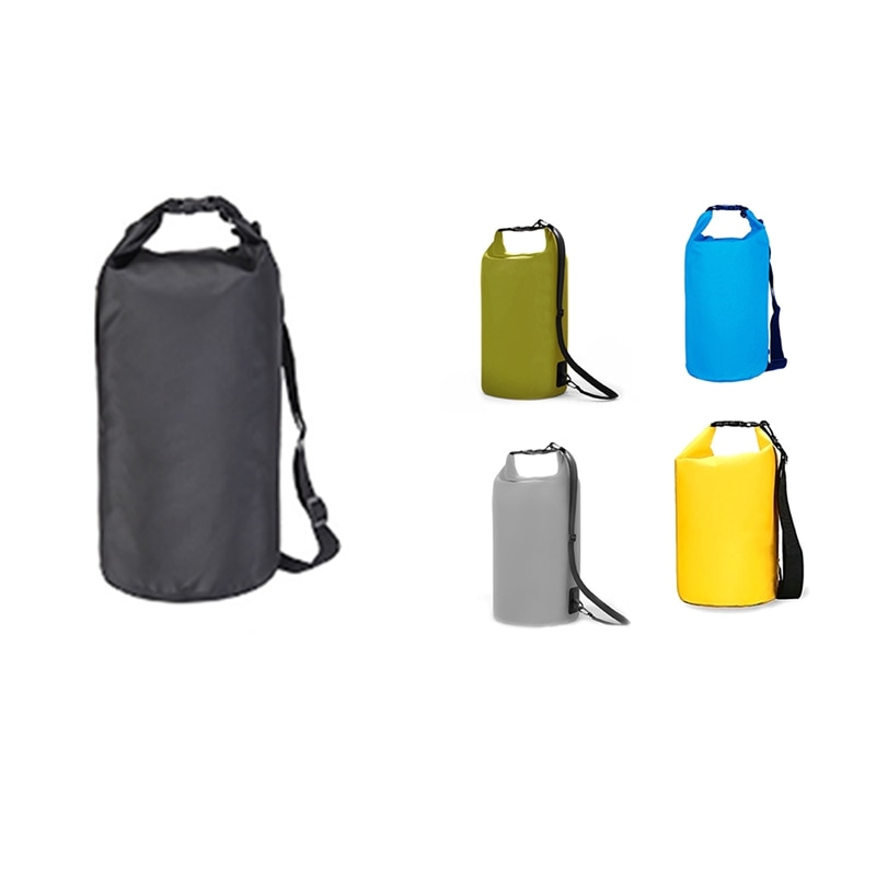 Floating Waterproof Dry Bag 15L Roll Top Sack Keeps Gear Dry for Kayaking Boating Swimming Camping H