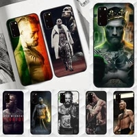 mcgregor boxing king phone case tpu for samsung s6 s7 s8 s9 s10 plus s20 s21 s30ultrs fundas cover coque