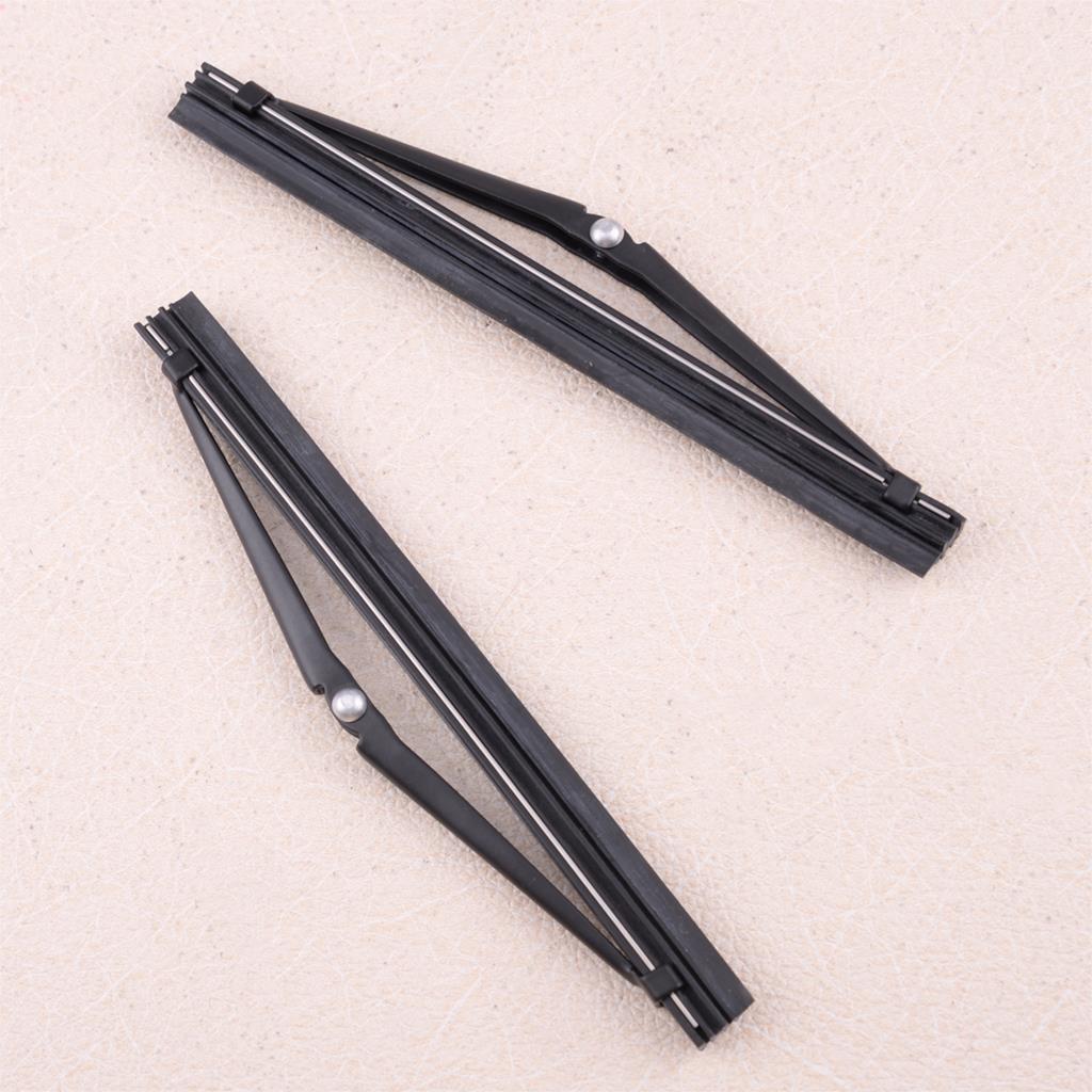 2 uds 274431 negro linterna de la lámpara de la cabeza del limpiaparabrisas apto para Volvo 960 S80 S90 V90 340, 360, 740, 760, 780