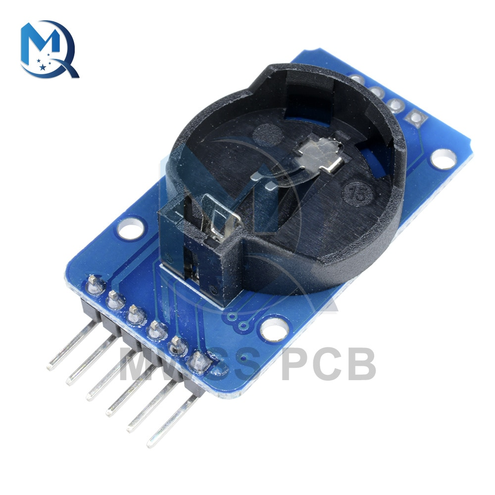 DS3231 AT24C32 IIC Interface High Precision Clock Module Memory DS3231 Real Time 3.3--5.5V For Arduino high precision ds3231 clock module at24c32 iic rtc real time memory module for arduino raspberry pi avr arm