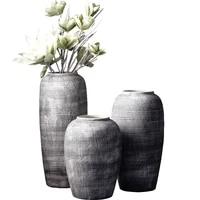 jingdezhen simple retro ceramic vase nordic modern luxury large vases living room flower arrangement decoration household gifts
