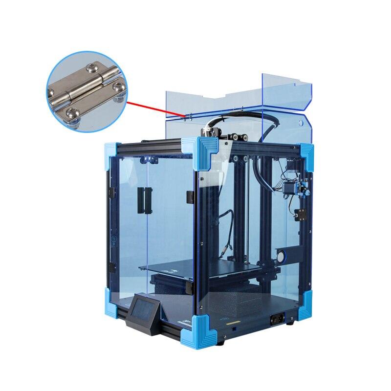 Creality ثلاثية الأبعاد Ender-6 طابعة ثلاثية الأبعاد آلة الغطاء العلوي السيارات قياس درجة الحرارة العزل الحراري عالية الشفافية انفصال