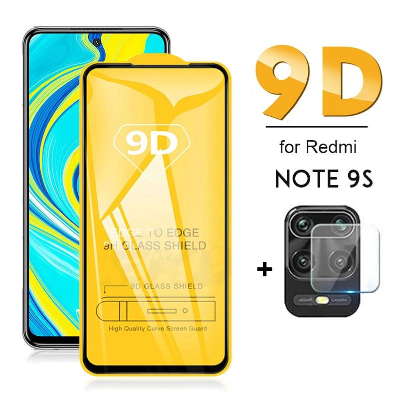 Protector de pantalla 2 en 1 para Xiaomi Redmi note 9 s...