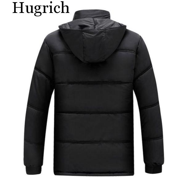 New 2021 Autumn Winter Men Middle-aged And Elderly Thickened Thermal Cotton-Padded Jacket Coat Cheap Wholesale