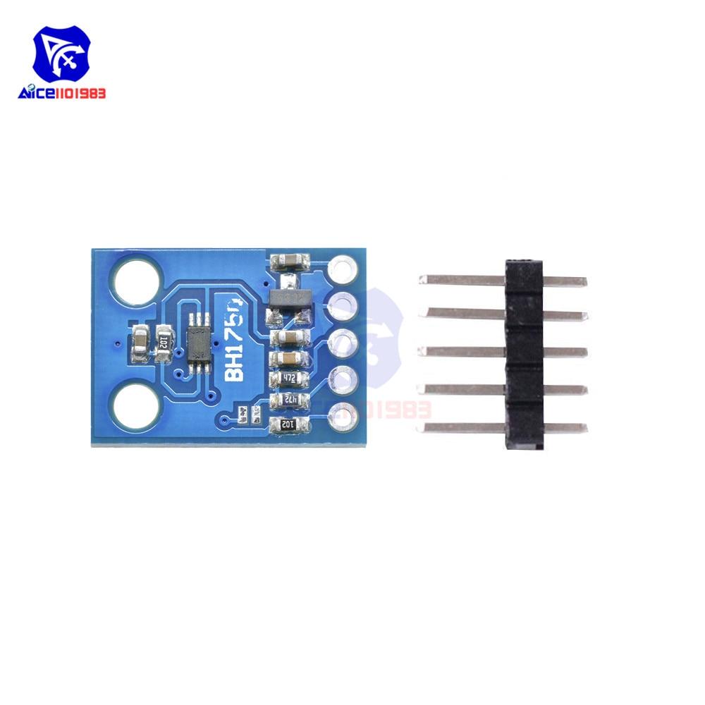 Bh1750fvi Digital Light intensity Sensor Module F Arduino 3v-5v Power NEW