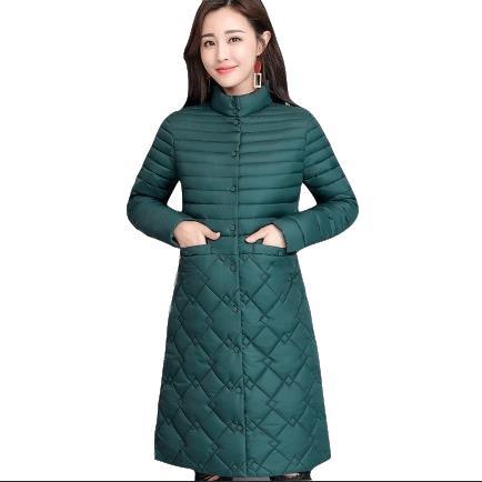 2020 Parkas abrigo de invierno para mujer abrigo de algodón grueso Parkas para mujer invierno largo grueso cálido de algodón prendas de vestir LJ25