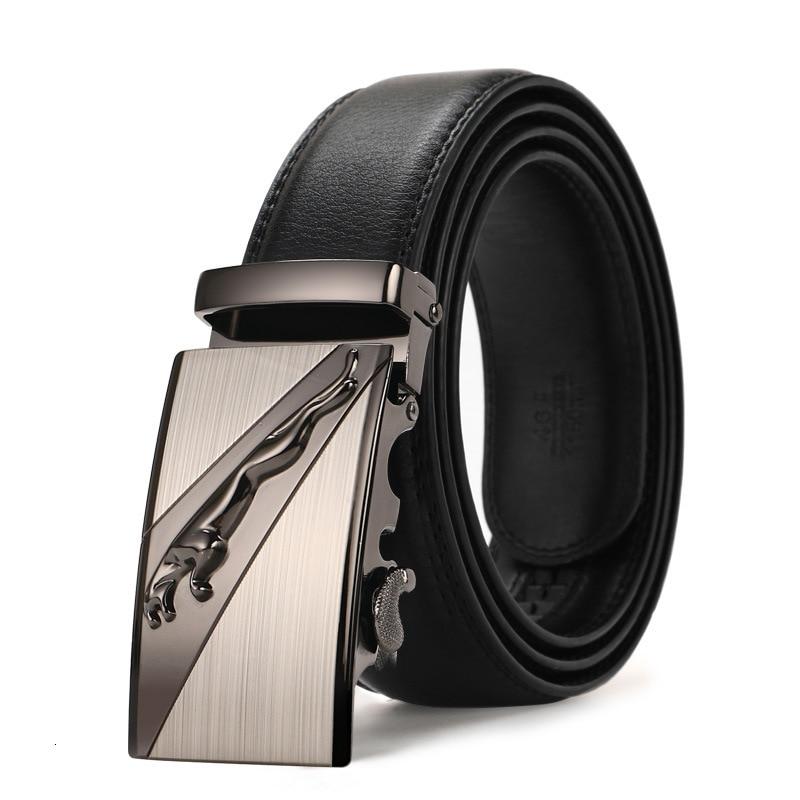 Peikong Mens Belts 2016 Automatic Buckle Fashion Belts For Men Business Popular Male Brand Black Belts Luxury thin pattern belt