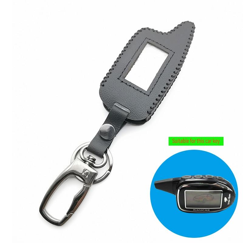 M7 Key Case Key Chain Keychain Fob Remote Control LCD for Magicar Scher-khan 7/8/9/10/11/12 two-way car alarm Accessories shell
