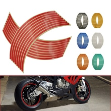 Motorfiets Wiel Sticker 3D Reflecterende Velg Tape Auto Decals Strips Voor Yamaha FZ6 Fazer XJ6 Afleiding Xsr 700 900 Tdm 900 MT125