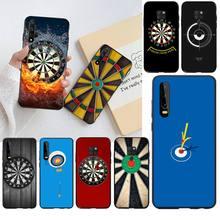 CUTEWANAN Vintage Dart Game TPU Weichen Silikon Telefon Fall Abdeckung für Huawei P30 P20 lite Mate 20 Pro lite P smart 2019 prime