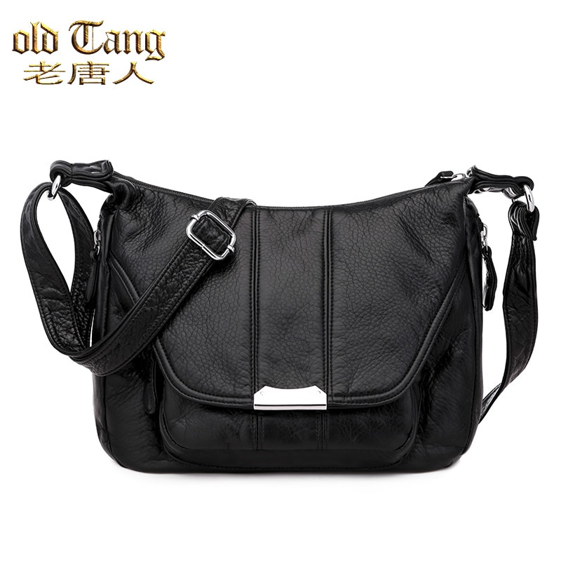 OLD TANG Winter Fashion Casual Style Shoulder Crossbody Bags for Women 2020 Soft Leather Luxury Desi