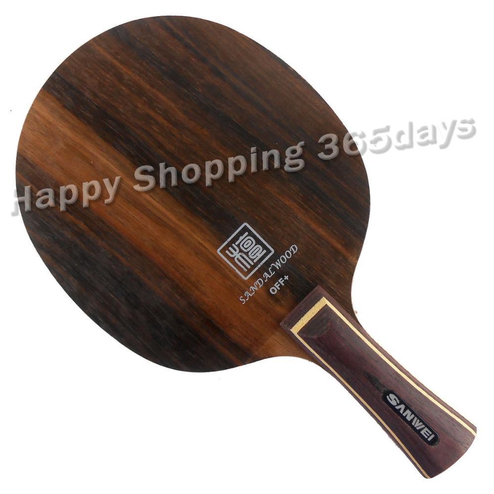 Sanwei ébano FIVE H5 H-5 raqueta de tenis de mesa para raqueta de ping pong paddle