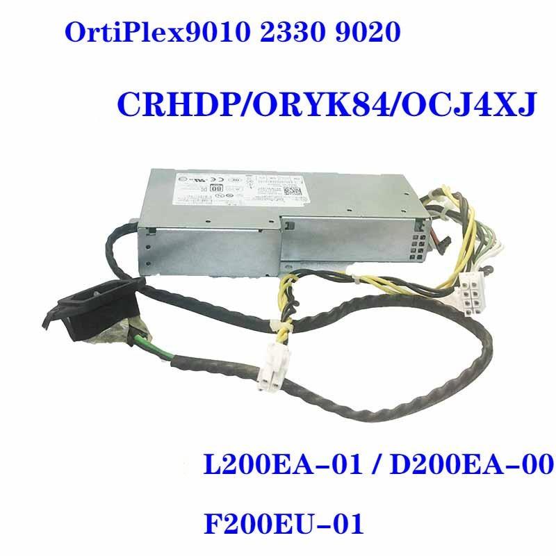 New Original PSU For Dell 9010 9020 2330 200W Power Supply L200EA-01 L200EA-00 F200EU-01 F200EU-00 D200EU-00 D200EA-00 F200EA-01