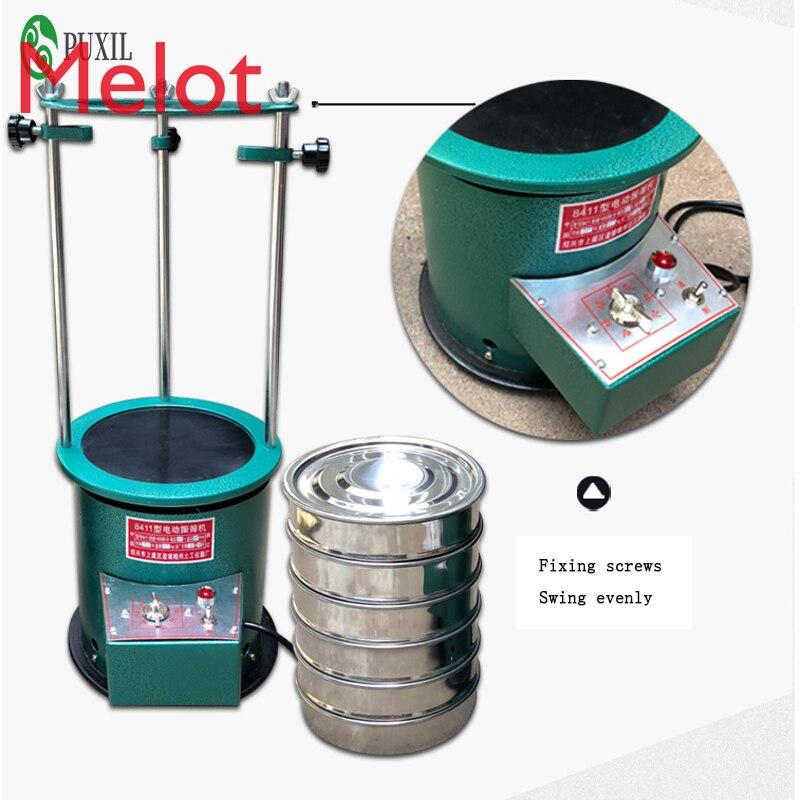 30CM /20CM diameter 8411 type electric vibrating screen machine sieve stirrer machine 220V enlarge