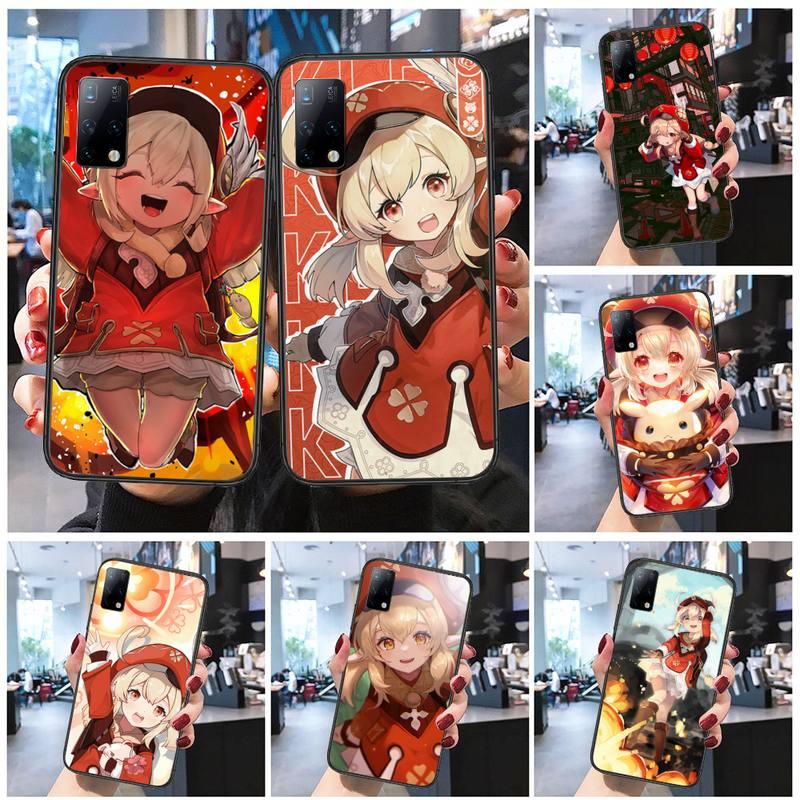 Geshin impact klee Phone Case for Huawei mate 9 10 20 30 40 20x nova 5t lite pro Cover Shell