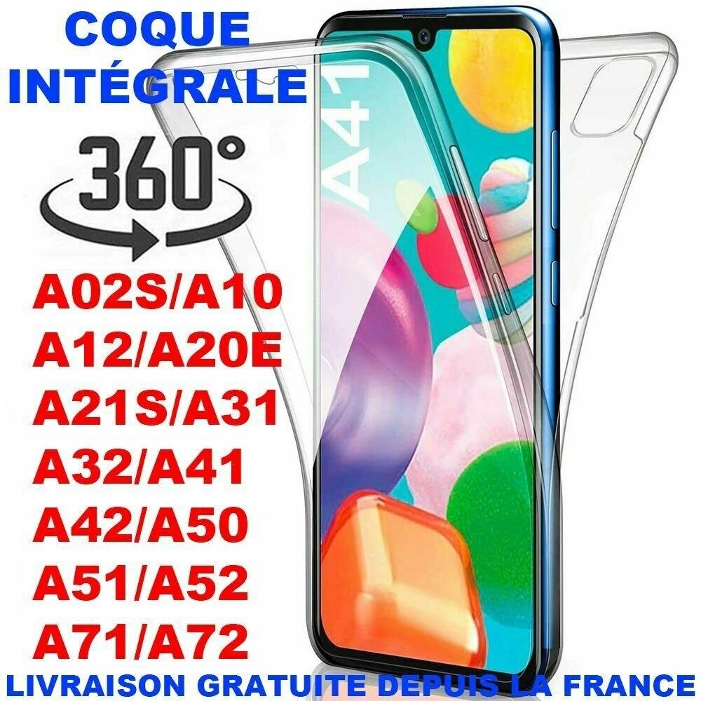 Intgrale 360 transparente Coque For Samsung A41 A51 A21s A71 A10 A20e A40 A50 A70